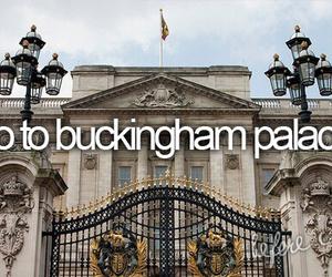 Buckingham palace, london, and bucketlist image