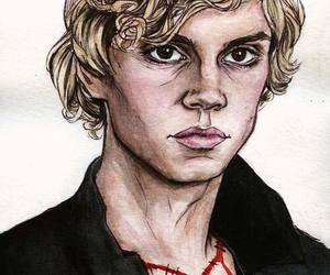 american horror story, coven, and evan peters image