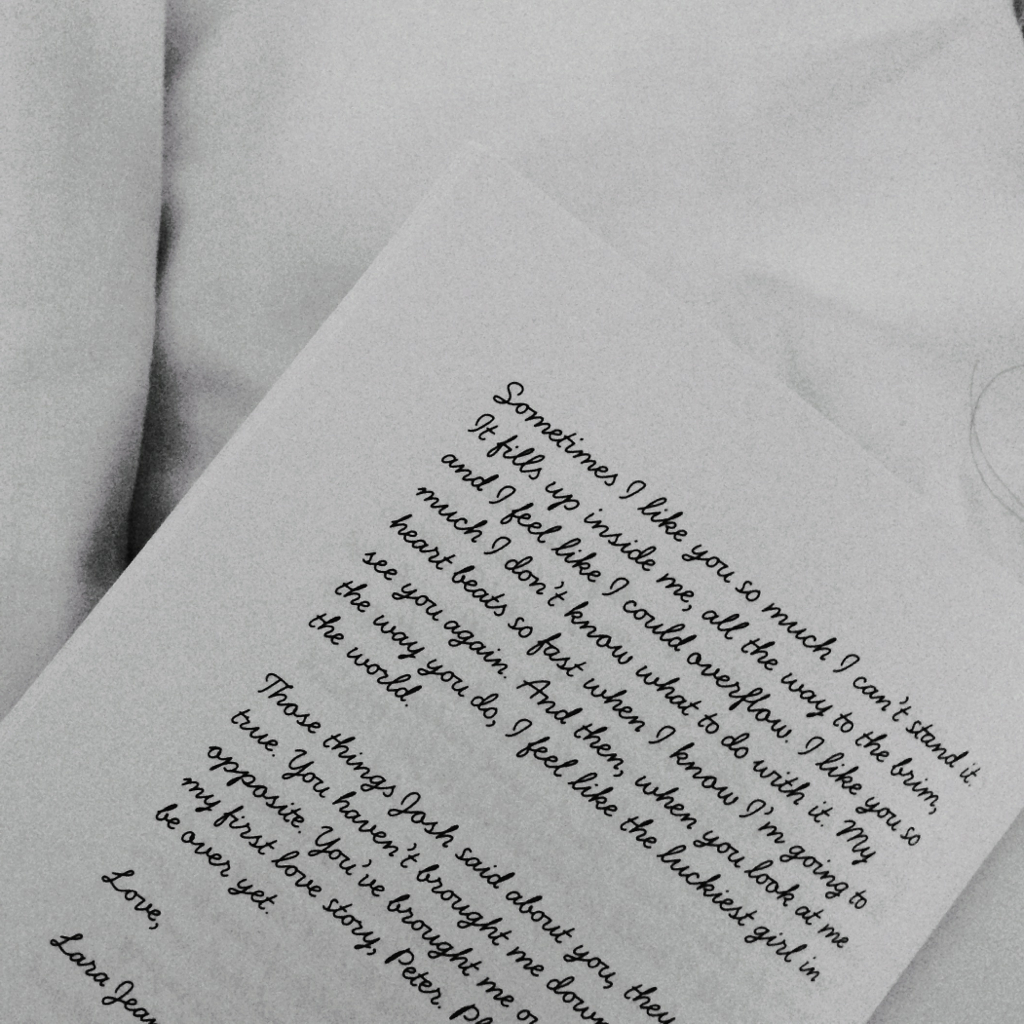 p s i still love you by jenny han on we heart it