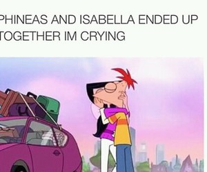 disney, isabella, and phineas image