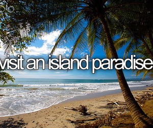 bucket list, beach, and Island image
