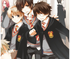 anime, james potter, and harry potter image