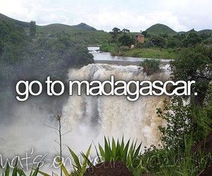 madagascar, before i die, and text image