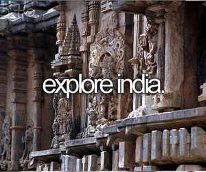 india, travel, and bucket list image