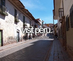 peru, wish, and bucket list image