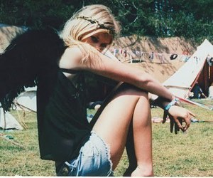 girl, angel, and blonde image