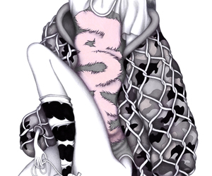 drawing, fashion, and Laura image