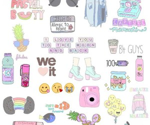 wallpaper, emoji, and tumblr image
