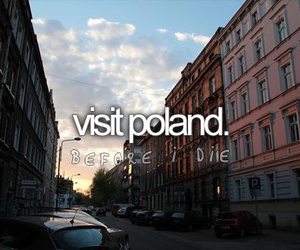 Poland, country, and visit image