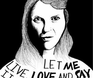 quote, black and white, and sylvia plath image