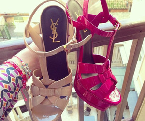 YSL, shoes, and high heels image