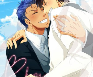wedding, kagami, and aomine image