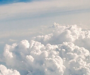apple, clouds, and cool image