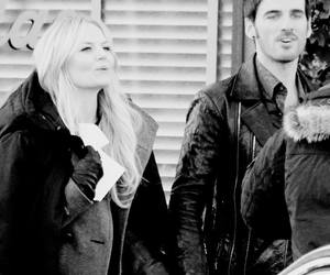 hook, once upon a time, and killian image