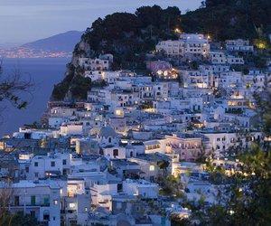 italy, capri, and travel image