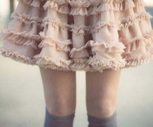 skirt, fashion, and legs image