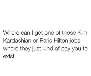 kim kardashian, money, and paris hilton image