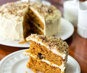 carrot cake, delicious, and dessert image