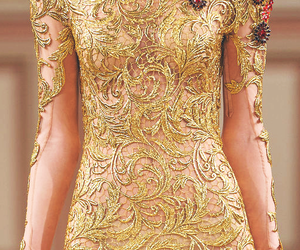 Couture, gold, and dress image