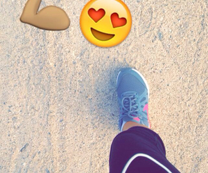 beach, exercise, and love image