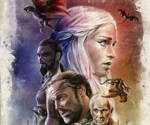 game of thrones, targaryen, and dragon image