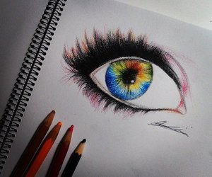 drawing, colour, and colourful image