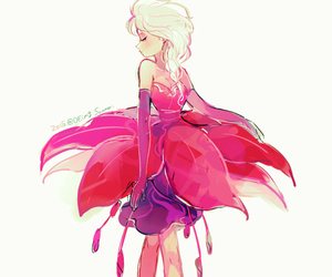 elsa, frozen, and pink image