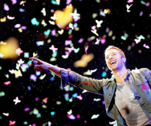 coldplay, Chris Martin, and music image
