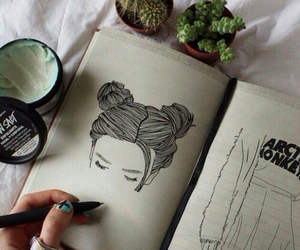 drawing, art, and grunge image