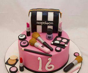 cake, napoleon, and sweet image