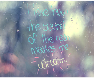 Dream, rain, and window image
