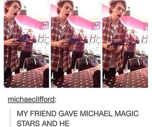 5sos, 5 seconds of summer, and michael clifford image