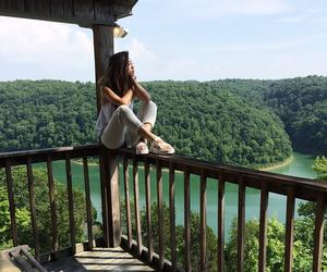 girl, travel, and mode image