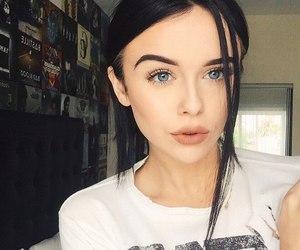 acacia brinley, makeup, and eyes image