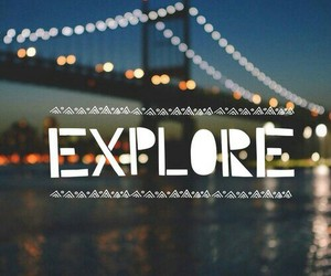 explore, adventure, and hipster image