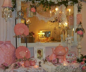 fairy, shabby chic, and home image