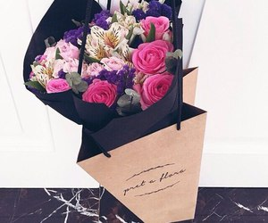 flowers, beautiful, and gift image