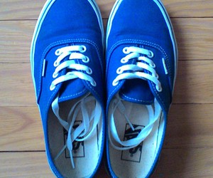 blue, hipster, and vans image