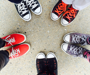 cliche, keds, and shoes image