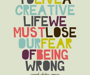 life, creative, and quote image