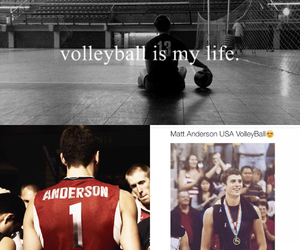 boys, volleyball, and matt anderson image
