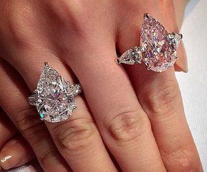 beautiful, fashion, and engagement ring image