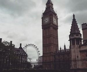 Big Ben, london, and london eye image