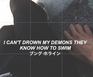 quotes, demon, and grunge image