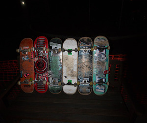 skateboard, skate, and grunge image