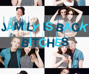 jamily, love, and lily collins image