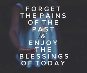enjoy, past, and quote image
