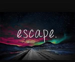 escape and galaxy image
