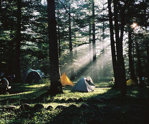 camping, nature, and photography image