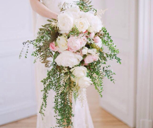 bouquets, flowers, and girl image